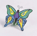 S&S Worldwide Unfinished Wooden Butterflies, Unassembled
