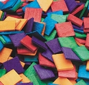 S&S Worldwide Wooden Mosaic Squares