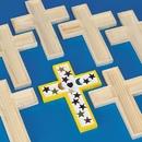 S&S Worldwide Unfinished Wooden Cross Tile Trivet