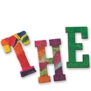 S&S Worldwide 3 Inch Wood Craft Letters Pk300