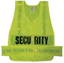 Safety Flag Class 2 Vests with Lime Yellow Stripes & Lime Yellow Patch