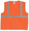 Safety Flag Class 2 Safety Vests with Silver Stripes