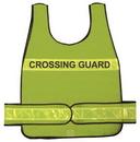 Safety Flag Vests - Poncho Style (Public Safety Legends) Safvest w/Side Closures