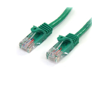 Startech 45PATCH5GN 5 ft Cat5e Green Snagless RJ45 UTP Cat 5e Patch Cable - 5ft Patch Cord