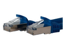 Startech 7ft Blue Shielded Cat6a Molded STP Patch Cable