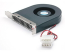 Startech Expansion Slot Rear Exhaust Cooling Fan with LP4 Connector
