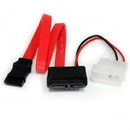 Startech 12in Slimline SATA to SATA with LP4 Power Cable Adapter