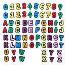 TOPTIE 72 PCS Letters Numbers Shoe Charms PVC Charms for Shoes Personalized Wristband Bracelet