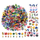 TOPTIE 300 PCS Wholesale Shoe Charms for Bracelets, Shoe Charms Bulk, Assortment Pack Party Decoration