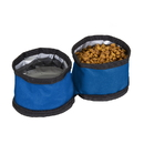 Stansport 1078-200 Collapsible - Double Dog Bowl