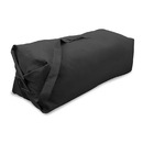 "Stansport 1206 Duffel Bag With Strap - Black - 30"" X 50"""