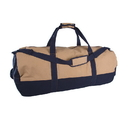 Stansport 1240 Duffle Bag With Zipper - 2 Tone - 18 In X 36 In