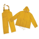 Stansport 2016-XL PVC Rain Suit With Cloth Back - YELLOW - XL
