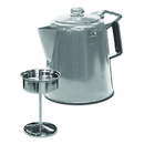 Stansport 276-28 28-Cup Stainless Steel Percolator Coffee Pot