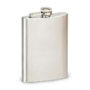 Stansport 367-333 Stainless Steel Flask - 8 Oz - Clamshell