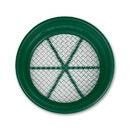 """Stansport 605-6402 Classifier/Sifter Pan -  1/2"""" Stainless Mesh"""