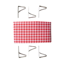 Stansport 610-611 Picnic Table Cloth With Clamps - Combo Pack