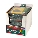 Stansport T-1012-P Rip Stop Tarp - 10 Ft X 12 Ft - Green - Pdq Pack