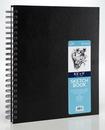 Pro Art PRO-0206-03 8.5X11 Spiral Bound Sketch Book Black