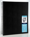 Pro Art PRO-0206-04 11X14 Spiral Bound Sketch Book Black