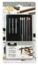Royal Brush RSET-ART2501 Royal Life Drawing Art Set - 14Pc