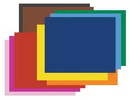 Pacon 5488 22X28 6Ply Railroad Board - Assorted Colors