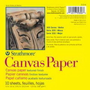 Strathmore 310-16-1 300 Series Canvas Paper Pad - 16X20