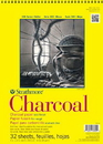 Strathmore 300 Series White Charcoal Pad