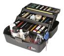Artbin Essentials Xl Three-Tray Box - Black