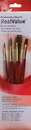 Princeton Brush 9121 Princeton 9121 Camel Brush Set - 4Pc
