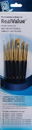 Princeton Brush 9137 Princeton 9137 Golden Taklon Brush Set - 6Pc