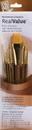 Princeton Brush 9141 Princeton 1941 Golden Taklon Brush Set - 7Pc