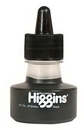 Grumbacher 44021 Higgins Non-Waterproof Ink 1Oz - Black
