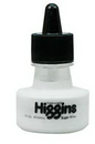 Grumbacher 44100 Higgins Waterproof Ink 1Oz - Super White