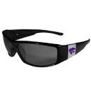 Siskiyou Buckle Kansas St. Wildcats Chrome Wrap Sunglasses, 2CCP15