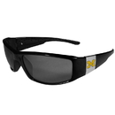 Siskiyou Buckle Michigan Wolverines Chrome Wrap Sunglasses, 2CCP36