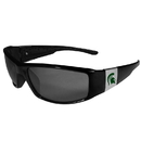 Siskiyou Buckle Michigan St. Spartans Chrome Wrap Sunglasses, 2CCP41