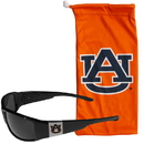 Siskiyou Buckle Auburn Tigers Chrome Wrap Sunglasses and Bag, 2CCP42EB