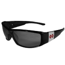 Siskiyou Buckle Mississippi St. Bulldogs Chrome Wrap Sunglasses, 2CCP45