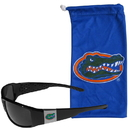 Siskiyou Buckle Florida Gators Chrome Wrap Sunglasses and Bag, 2CCP4EB