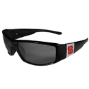 Siskiyou Buckle N. Carolina St. Wolfpack Chrome Wrap Sunglasses, 2CCP79