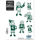 Siskiyou Buckle 2CFSD41 Michigan St. Spartans Family Decal Set Small