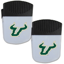 Siskiyou Buckle S. Florida Bulls Chip Clip Magnet with Bottle Opener, 2 pack, 2CPMC101