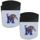 Siskiyou Buckle Memphis Tigers Chip Clip Magnet with Bottle Opener, 2 pack, 2CPMC103