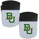 Siskiyou Buckle Baylor Bears Chip Clip Magnet with Bottle Opener, 2 pack, 2CPMC115