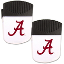 Siskiyou Buckle Alabama Crimson Tide Chip Clip Magnet with Bottle Opener, 2 pack, 2CPMC13