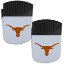 Siskiyou Buckle Texas Longhorns Chip Clip Magnet with Bottle Opener, 2 pack, 2CPMC22