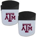 Siskiyou Buckle Texas A & M Aggies Chip Clip Magnet with Bottle Opener, 2 pack, 2CPMC26