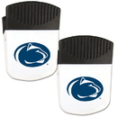 Siskiyou Buckle Penn St. Nittany Lions Chip Clip Magnet with Bottle Opener, 2 pack, 2CPMC27