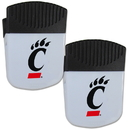 Siskiyou Buckle Cincinnati Bearcats Chip Clip Magnet with Bottle Opener, 2 pack, 2CPMC37